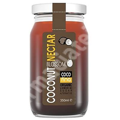 Nectar organic din flori de cocos, 350 ml, Cocofina