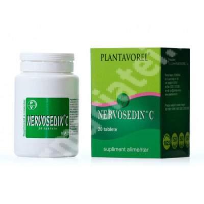 Nervosedin C, 20 tablete, Plantavorel