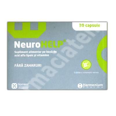 NeuroHelp, 30 capsule, Torrent Pharma
