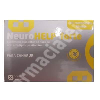 NeuroHelp Forte, 30 comprimate filmate, Torrent Pharma