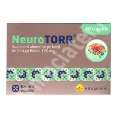 NeuroTorr, 20 capsule, Torrent