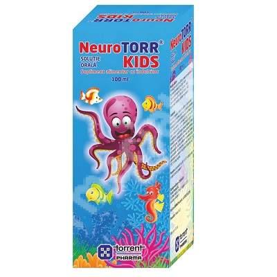 Neurotorr Kids solutie orala, 100 ml, Torrent Pharma