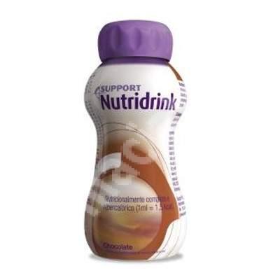 Nutridrink cu aroma de ciocolata, 200 ml, Nutricia