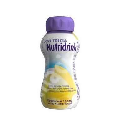 Nutridrink cu aroma de vanilie, 200 ml, Nutricia