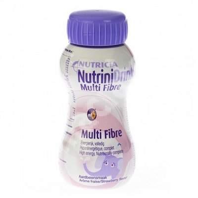 NutriniDrink MF cu aroma de capsuni, 200 ml, Nutricia