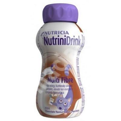NutriniDrink MF cu aroma de ciocolata, 200 ml, Nutricia