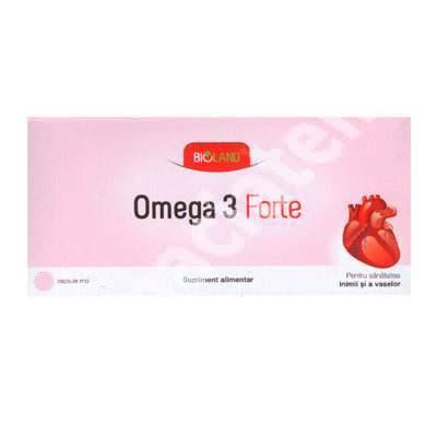 Omega 3 Forte, 28 capsule, Bioland