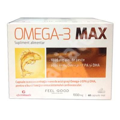 Omega 3 Max, 30 capsule, Glenmark