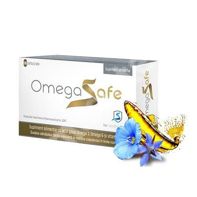 OmegaSafe, 30 capsule, Pharco