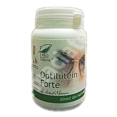 Optilutein Forte, 60 capsule, Pro Natura