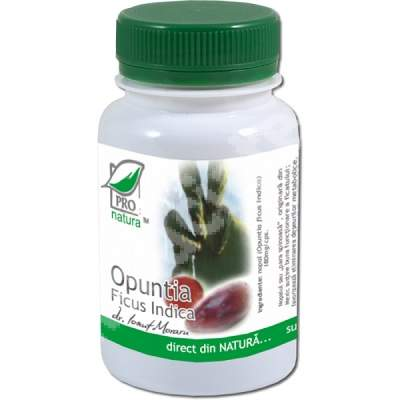 Opuntia Ficus Indica, 60 capsule, Pro Natura
