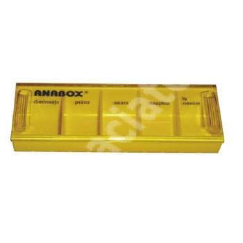 Organizator medicamente pentru utilizare zilnică, Anabox