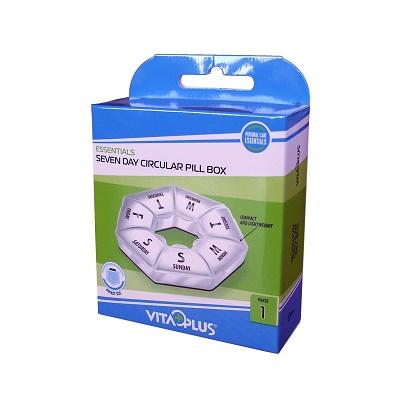 Organizator săptămânal pentru medicamente VP64081, Vitaplus
