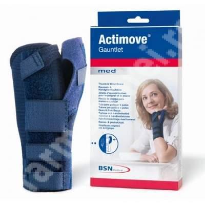 Orteza pentru mana si deget Actimove Gauntlet, Stanga, Marimea XL, BSN Medical