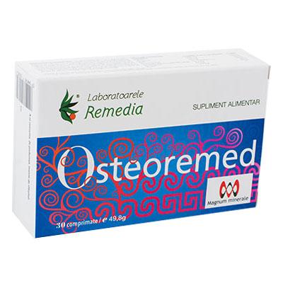 Osteoremed, 30 comprimate, Remedia