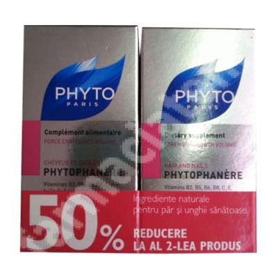 Pachet Phytophanere, 120 + 120 capsule, Phyto (50% reducere din al 2-lea produs)