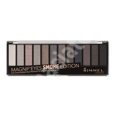 Paleta de farduri Magnif Eyes 003 Smoke Edition, 14.16 g, Rimmel London