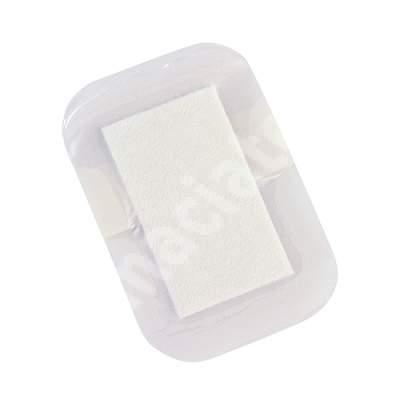 Pansament absorbant Askina Soft, 7.5 x 5 cm, Braun