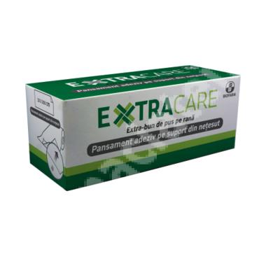 Pansament adeziv pe suport din netesut Extracare, 10 x 200 cm, Biofarm