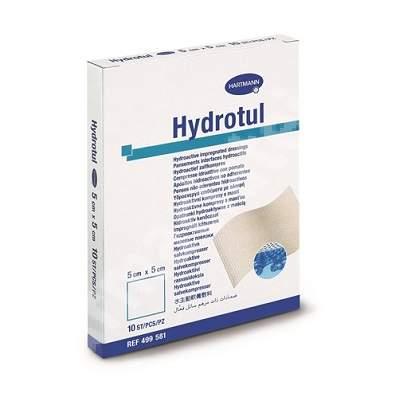 Pansament hidroactiv Hydrotul, 5 cm x 5 cm (499581), 10 bucăți, Hartmann
