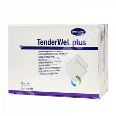 Pansament hidroactiv TenderWet plus, 10 cm x 10 cm, 10 bucăți, Hartmann