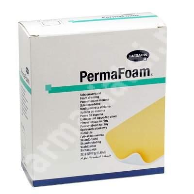Pansament Permafoam, 15x15 cm (409405), 5 bucăți, Hartmann