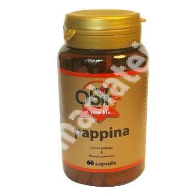 Pappina, 60 capsule, Obire