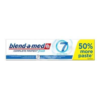 Pastă de dinți - Complete 7 Extra Fresh Blend-a-med, 150 ml, P&G