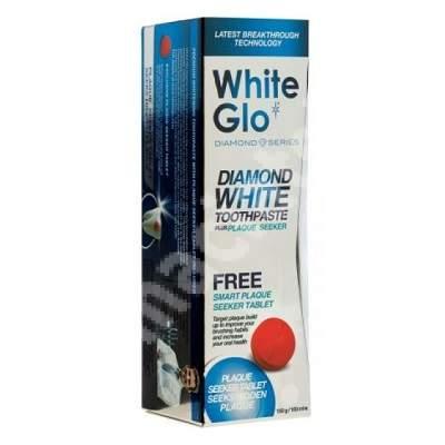Pastă de dinți cu efect de albire Diamond White Glo, 100 ml, Barros Laboratories