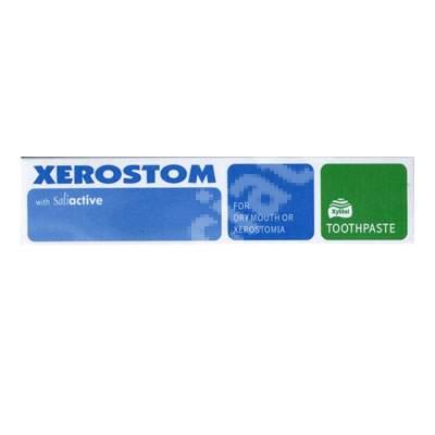 Pastă de dinți elimină sindromul gurii uscate Xerostom, 50 ml, Biocosmetics
