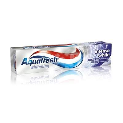 Pastă de dinți Intense White Aquafresh, 100 ml, Gsk