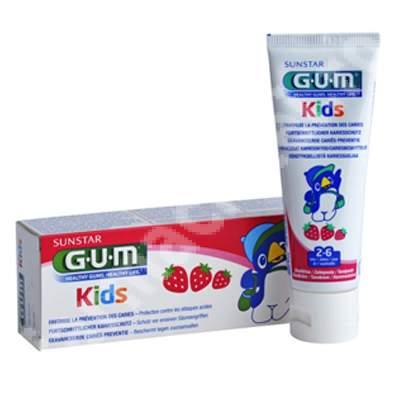 Pastă de dinți Kids 2-6 ani, 50 ml, Sunstar Gum