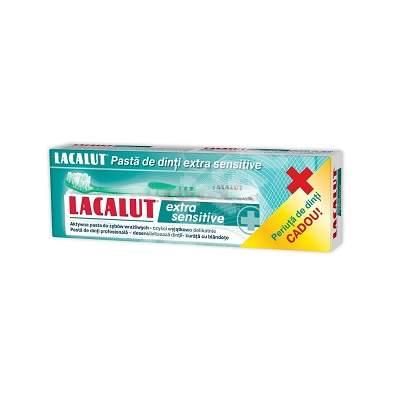 Pastă de dinți Lacalut Extra Sensitive , 75 ml, Theiss Naturwaren