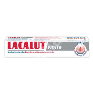Pastă de dinți Lacalut White, 75 ml, Theiss Naturwaren