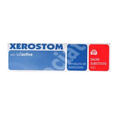 Pastă de dinți luptă eficient împotriva xerostomiei Xerostom, 25 ml, Biocosmetics