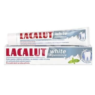 Pastă de dinți medicinală Lacalut White Alpenminze, 75 ml, Theiss Naturwaren