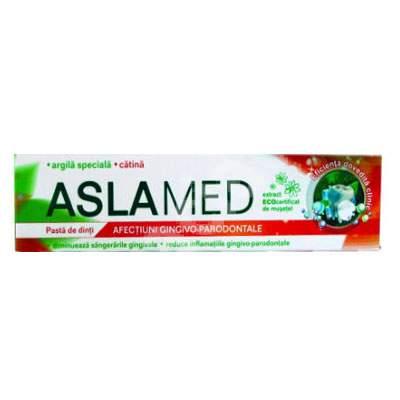 Pastă de dinți pentru afecțiuni gingivale și parodontale - AslaMed, 75 ml, Farmec