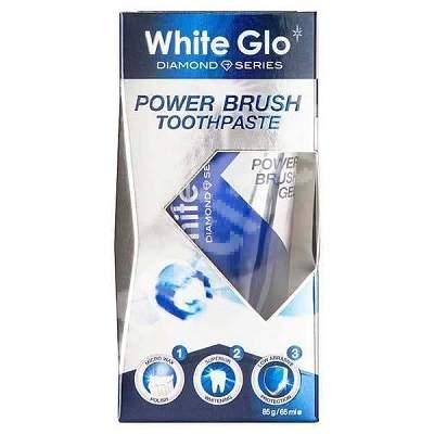 Pastă de dinți pentru periuțe electrice White Glo Power, 65 ml, Barros Laboratories