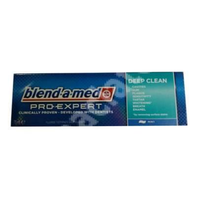 Pastă de dinți - Pro-Expert All in One Deep Clean Mint Blend-a-med, 75 ml, P&G