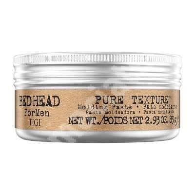 Pasta modelatoare Bed Head for Men Pure Texture Molding Paste, 83 g, Tigi