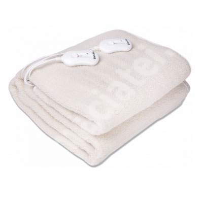 Pătură electrică din lână sintetică pentru două persoane, INN064, Innofit