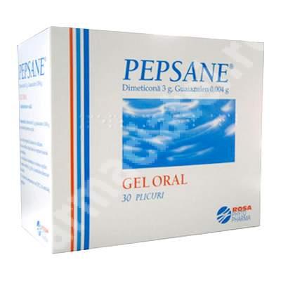 Pepsane gel, 30 plicuri, Rosa Phyto Pharma