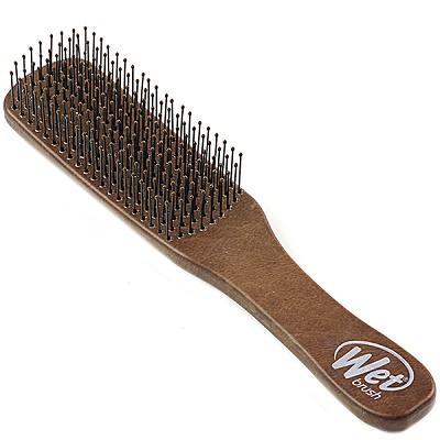 Perie de păr pentru bărbați Men Brown Leather, Wet Brush