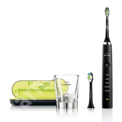 Periuță de dinți sonică electrică - Diamond Clean, Black, HX9352/04, Philips Sonicare