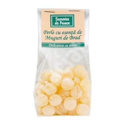 Perle cu esenta de muguri de brad, 100 g, Sucreries de France