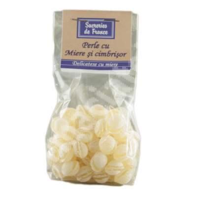 Perle cu miere si cimbrisor, 100 g, Sucreries de France