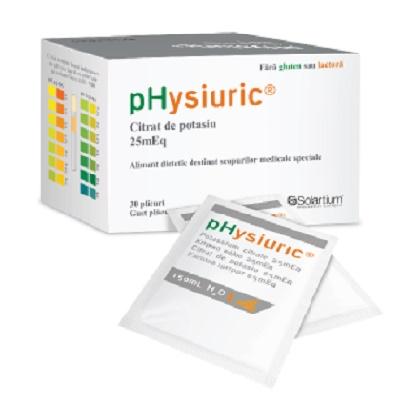 Physiuric, 30 plicuri, Solartium