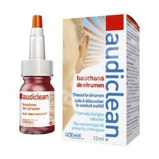 Picături Audiclean pentru îndepărtarea cerumenului, 12 ml, Omega Pharma
