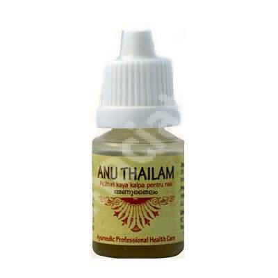 Picaturi kaya kalpa pentru nas Anu Thailam, 10 ml, Rajah Healthy Acres