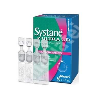 Picaturi oftalmice lubrifiante Systane Ultra UD 0.7 ml, 30 unidoze, Alcon